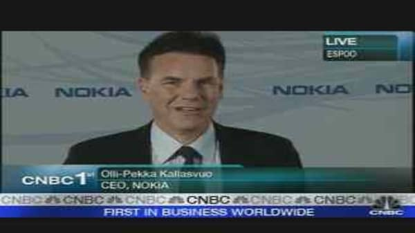 Nokia CEO on Strong Earnings