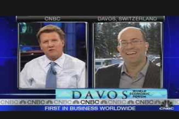 NBC Universal CEO in Davos