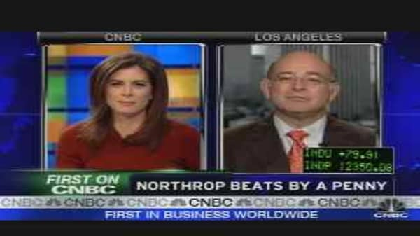 Northrop Grumman CEO on Earnings