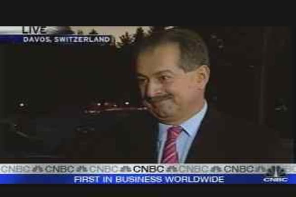 Dow Chemical CEO Speaks