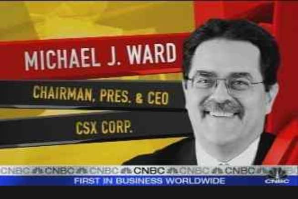 Cramer on CSX CEO