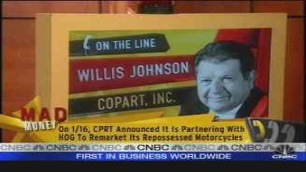 Copart CEO