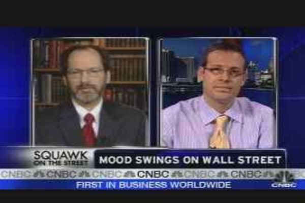 Mood Swings on Wall Street