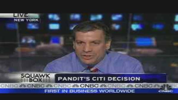 Pandit's Citi Decision