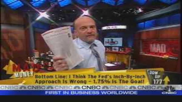 Cramer on the Fed