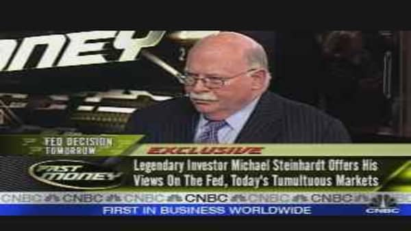 Exclusive: Steinhardt on the Fed