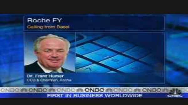 Roche Reports 25% Profit Increase