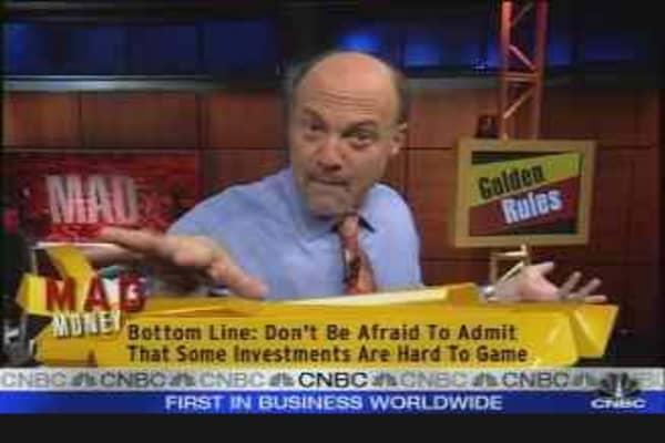 Cramer's Golden Rule #5