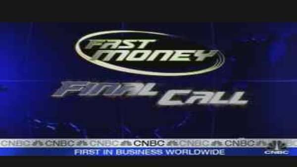 Fast Money Oil Trades