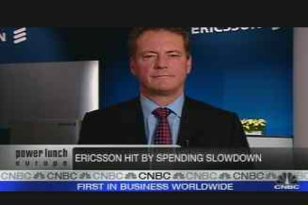 Ericsson CEO on Earnings, Job Cuts