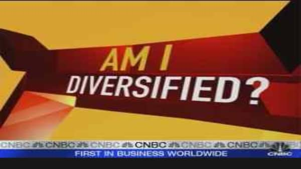 Cramer: Am I Diversified?