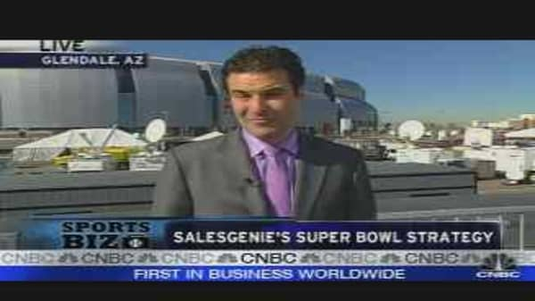 Sales Genie's Super Bowl Strategy