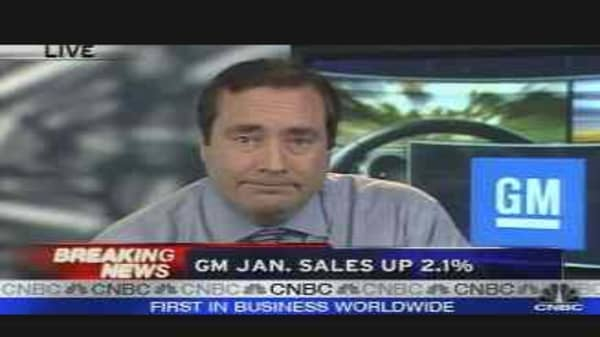 January Auto Sales