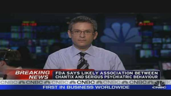 FDA Warns Against Pfizer's Chantix