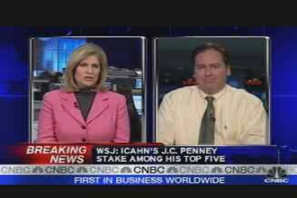 Icahn Buys Big Stake in JCP
