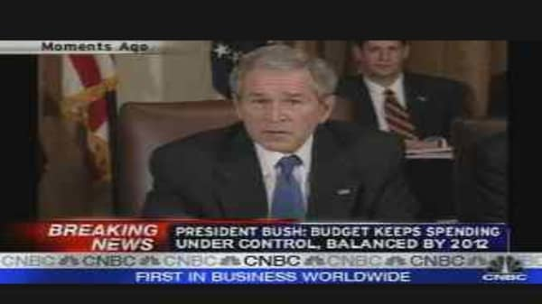 Bush on the Budget