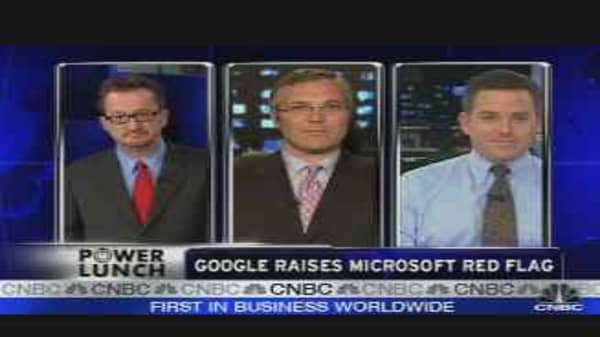 Google Raises MSFT Red Flag