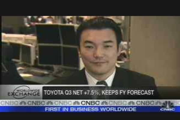 Emerging Markets Boost Toyota