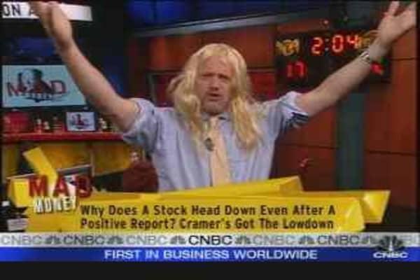 Cramer: Beware of Hairy Earnings
