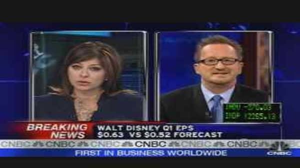 Disney Earnings Analysis