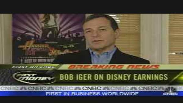 Disney CEO on Earnings
