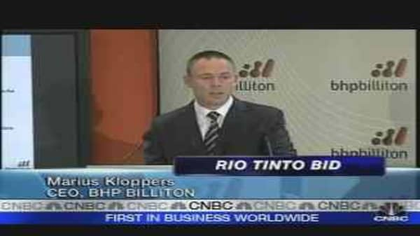 BHP Billiton Launches Hostile Bid for Rio