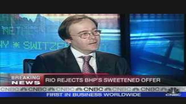 Rio Rejects BHP Again