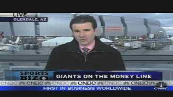 Giants on the Money Line