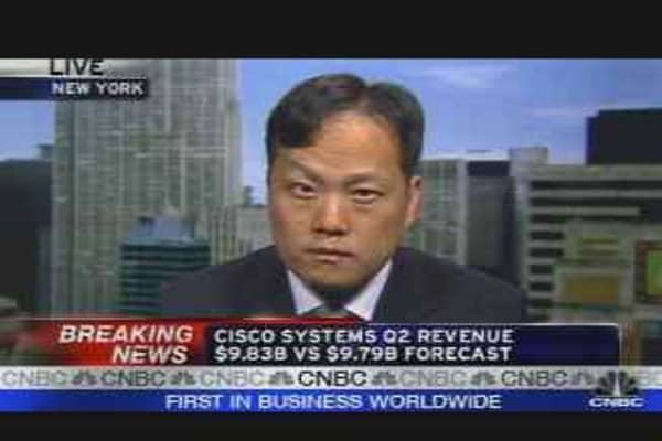 Cisco Earnings Reaction