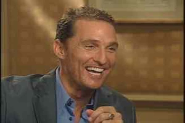 Web Extra: Deutsch Interviews McConaughey