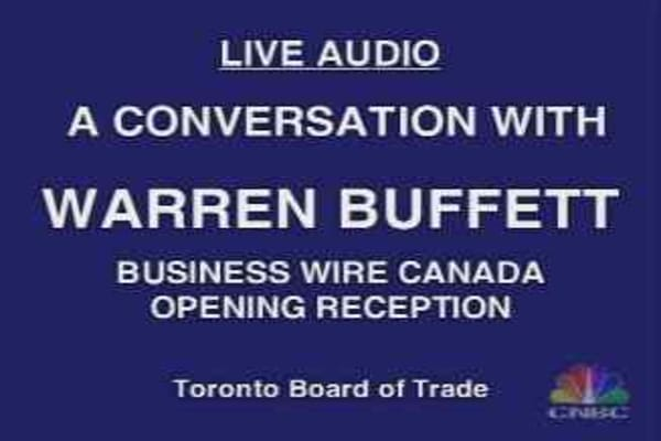 Buffett in Toronto