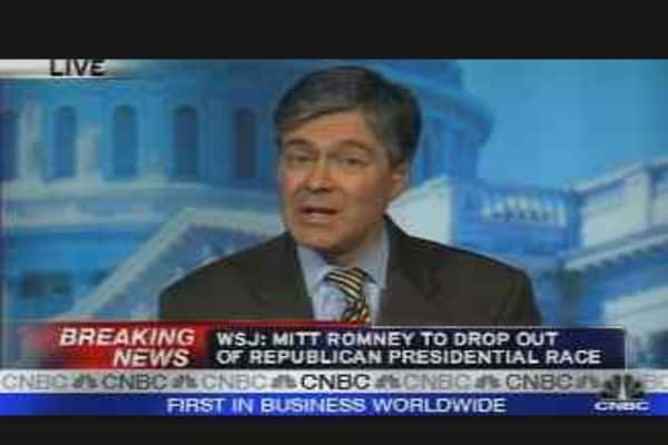 Romney Drops Out of Prez Race