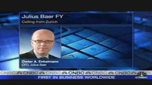 Julius Baer Profit Rises