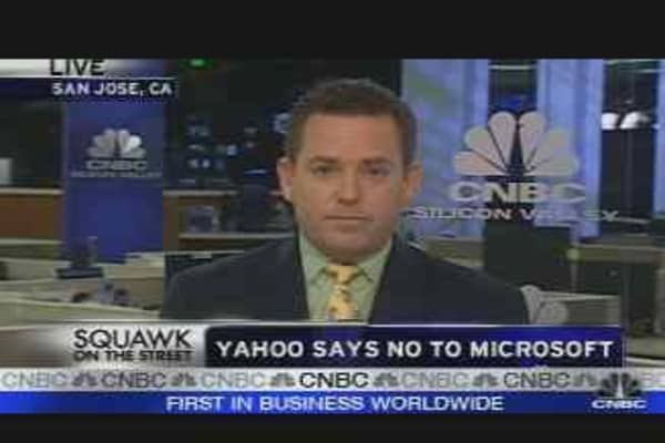 Yahoo Says No