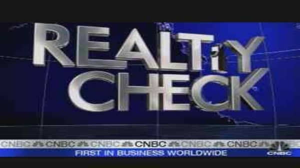 Realty Check: Buying a Home Now