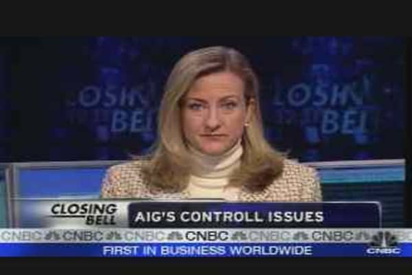 AIG's Control Issues