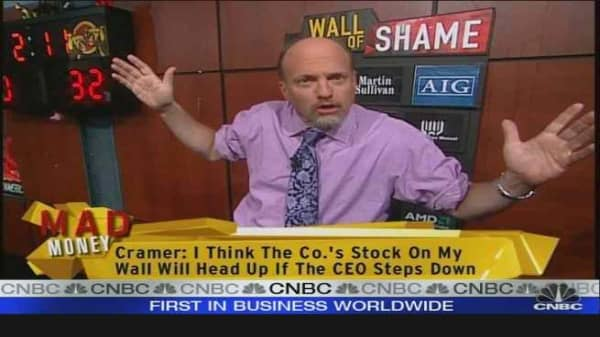Cramer on Dow Changes