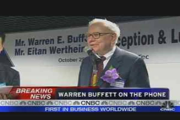 Buffett on Bond Insurers 2