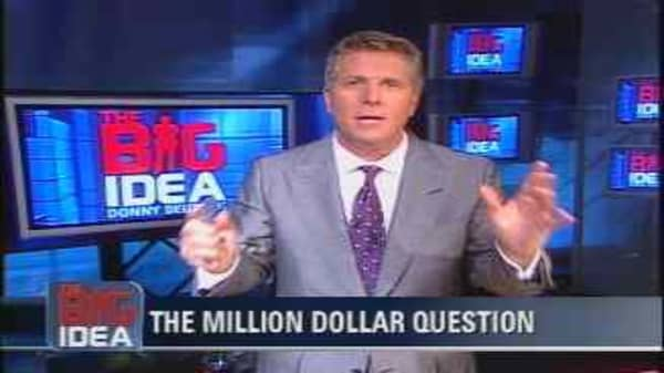 The Big Idea's Million Dollar Question