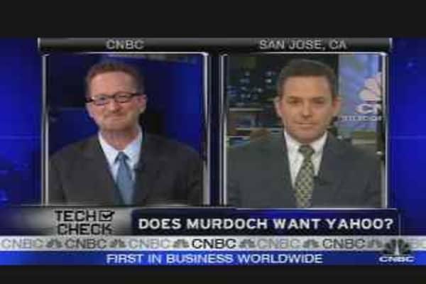 Does Murdoch Want Yahoo?