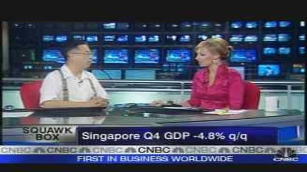 Singapore Economy Shrinks