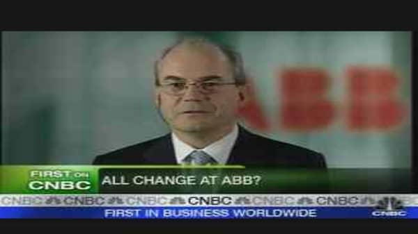 ABB Prepares for Changes
