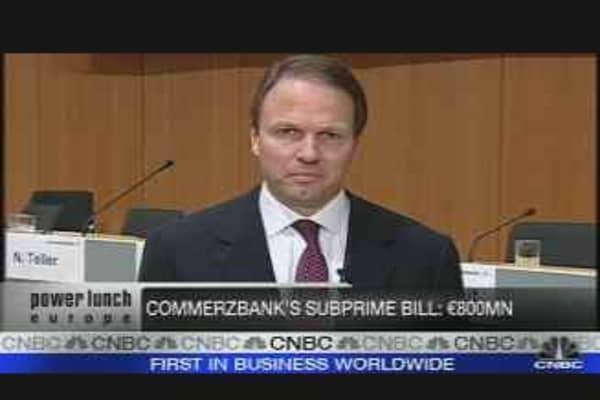 Commerzbank CFO on Earnings, Outlook