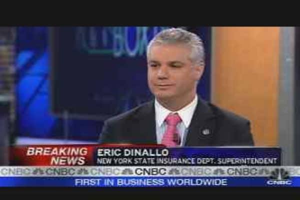 Dinallo on Bond Insurers