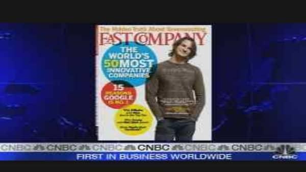 Fast Company: Innovators