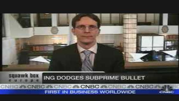 ING Dodges Subprime?
