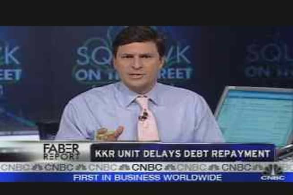 KKR Delays Repayment of Paper