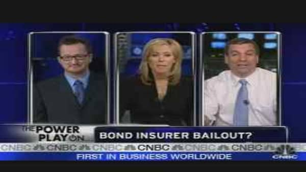 Bond Insurer Bailout in Trouble