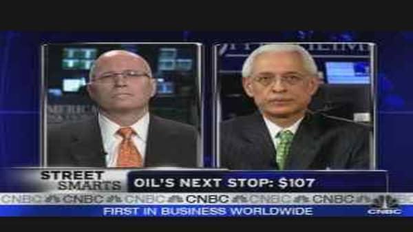 Oil's Next Stop: $107
