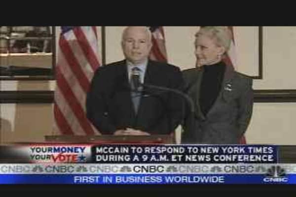 McCain vs. NY Times